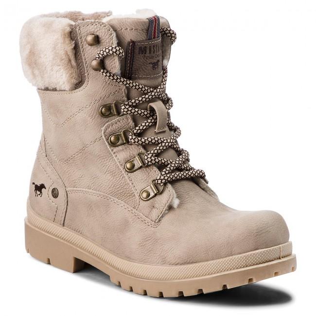 Outdoorová obuv MUSTANG - 43C089 Béžová - Outdoorové topánky - Čižmy ... 33b5ef580e9