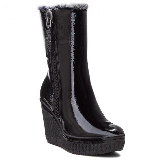 6e9a738639 Členková obuv CALVIN KLEIN JEANS - Santa RE9713 Black - Kotníková ...