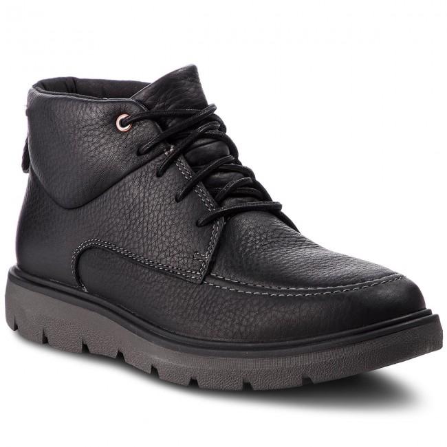 f28f5a03dd2c Outdoorová obuv CLARKS - Un Map Mid Gtx GORE-TEX 261367957 Black Leather