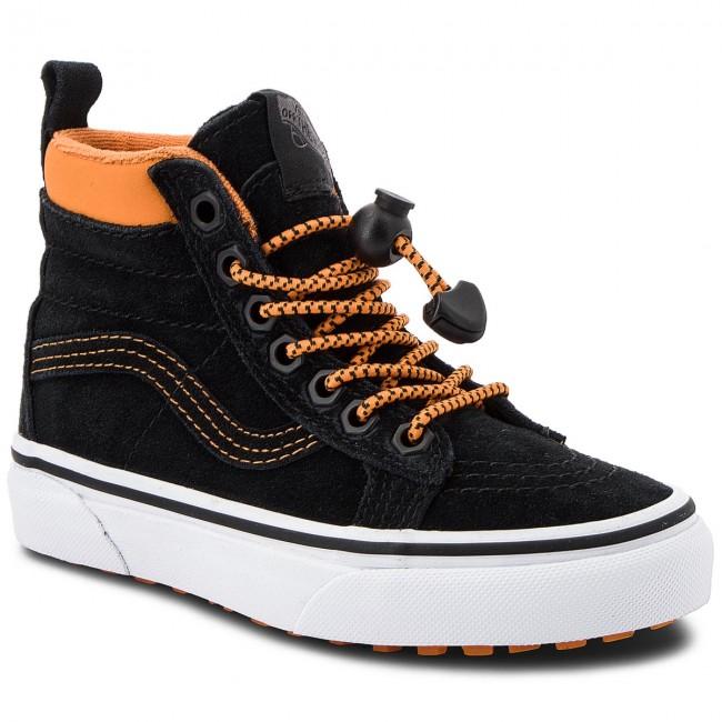Outdoorová obuv VANS. Ski8-Hi Mte VN0A2XSNUE8 (Mte) Toggle Orange Black aff18d07054