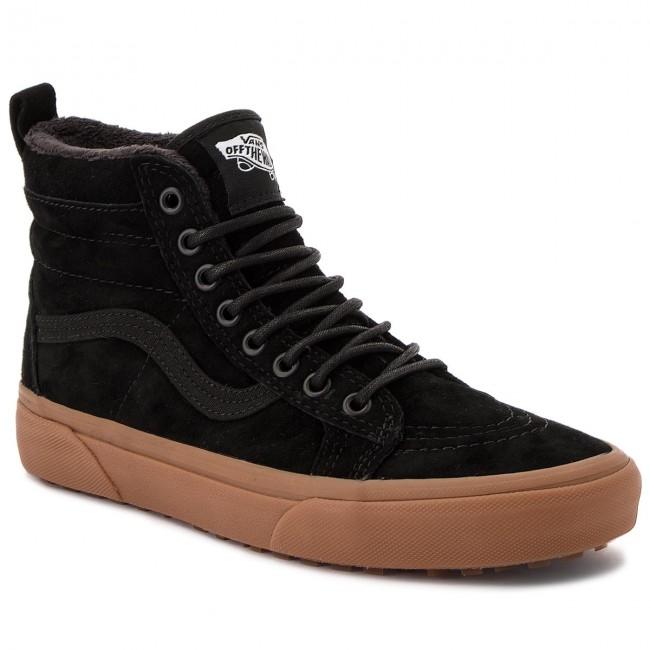f22a9bde0 Sneakersy VANS - Sk8-Hi Mte VA33TXGT7 (Mte) Black/Gum - Sneakersy ...