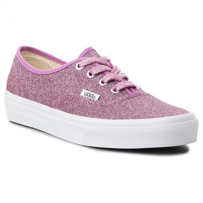5c1a0de80b1 Tenisky VANS - Authentic VN0A38EMU3U (Lurex Glitter) Pink True ...