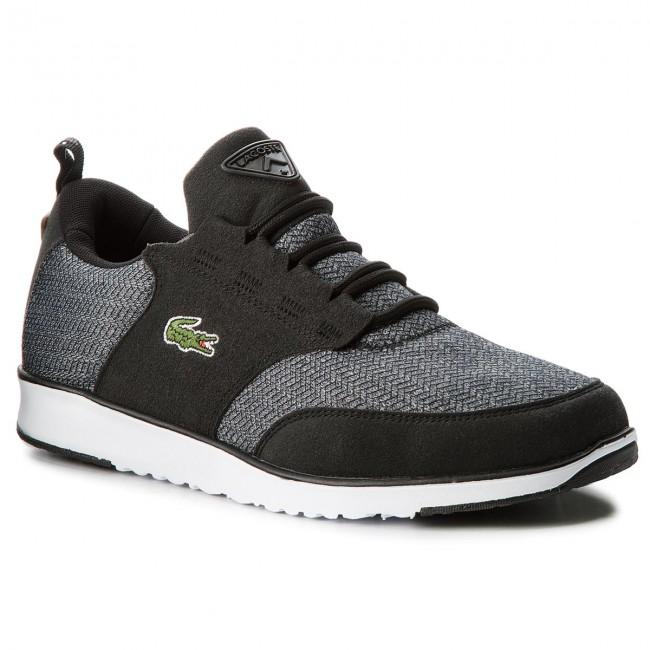 Sneakersy LACOSTE - L.Ight 318 3 Spm 7-36SPM0024094 Blk Brw ... 07466e3fb07