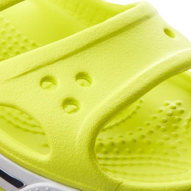 Sandále CROCS - Crocband II Sandal 14854 Tennis Ball Green White ... 754c1caa89e