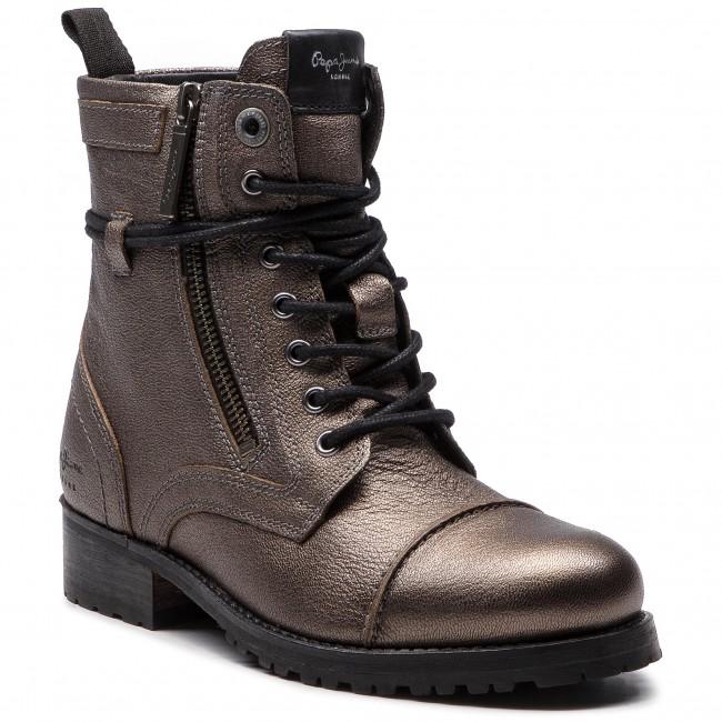 c95e662b6a Členková obuv PEPE JEANS - Melting Metal PLS50351 Chrome 952 ...