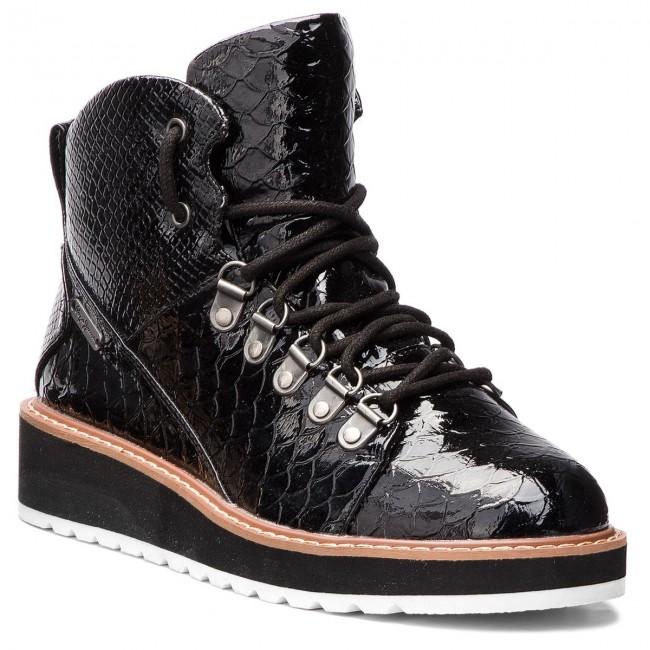 d4a1ffbf47 Členková obuv PEPE JEANS - Ramsey Coco PLS50315 Black 999 ...