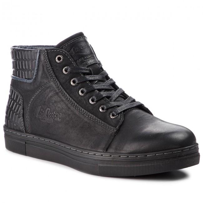 Outdoorová obuv LEE COOPER - LCJ-18-523-071A Black - Topánky - Čižmy ... 2c80e45165