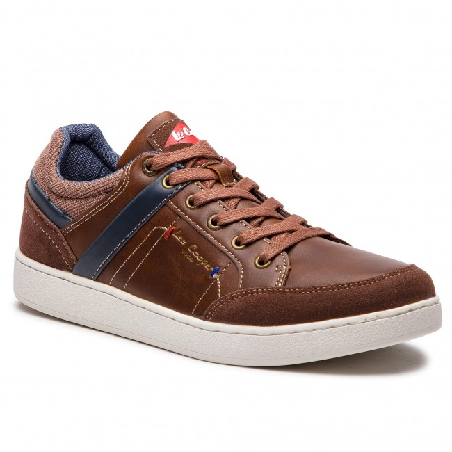 Sneakersy LEE COOPER - Bridge PCHN1206S Cognac 0241 - Sneakersy ... 47d4fdea83