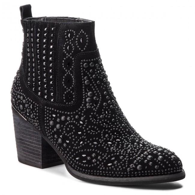 4778f8073eb2 Členková obuv ALMA EN PENA - I18286 Black - Kotníková obuv - Čižmy a ...