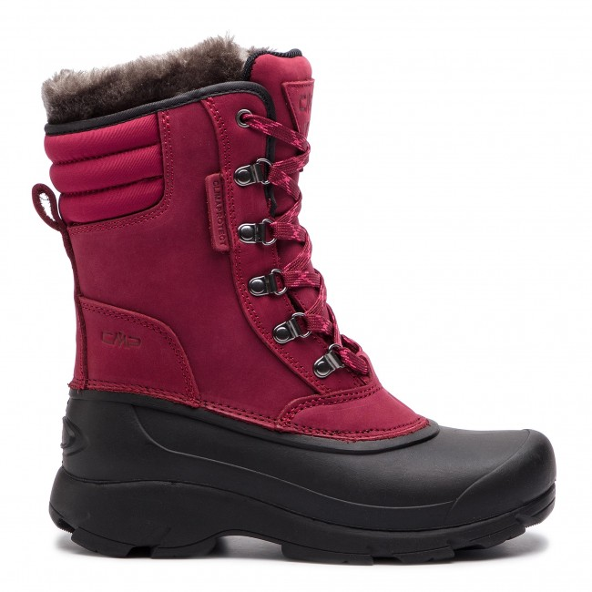 4105002762 Snehule CMP - Kinos Wmn Snow Boot Wp 2.0 38Q4556 Syrah Nero 59BN ...
