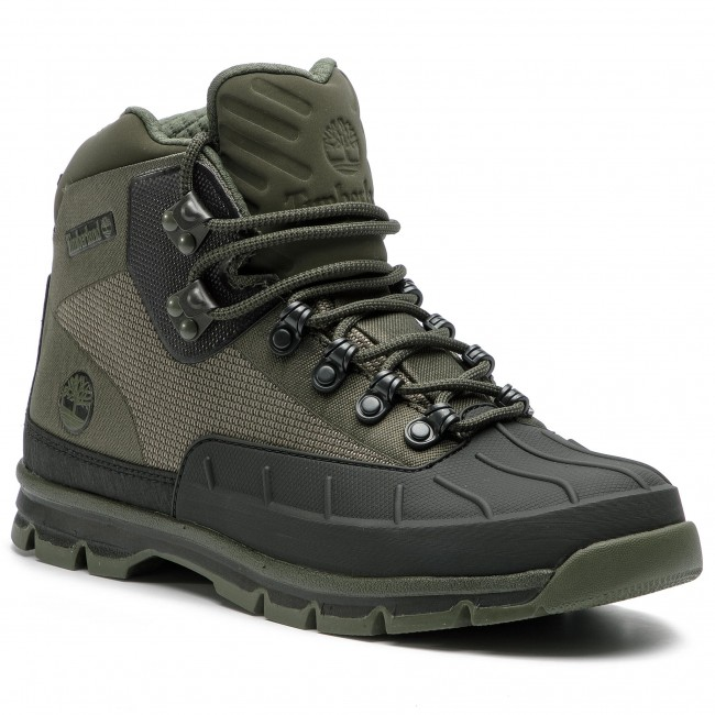 Outdoorová obuv TIMBERLAND - Euro Hiker Shell Jacquard TB0A1QIBA581 Dark  Olive da540c35f01