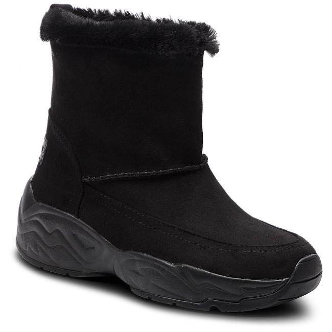 17c9619f0cf1 Členková obuv KENDALL + KYLIE - Forest-B Black - Kotníková obuv ...
