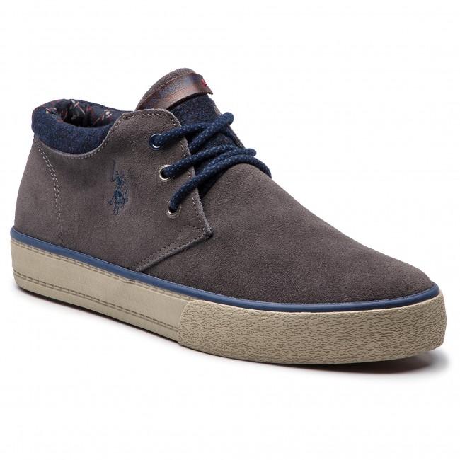 9be15199ffd0 Outdoorová obuv U.S. POLO ASSN. - Wesley GALAN4143W8 S1 Dkgr ...