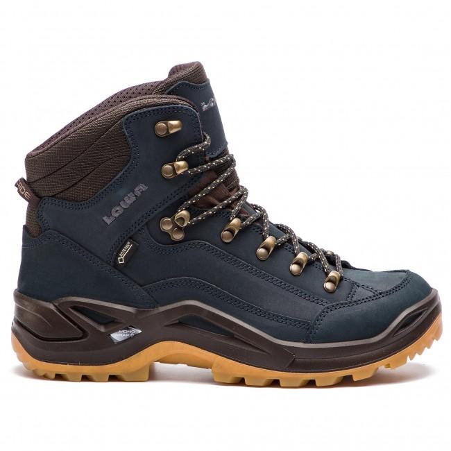 Trekingová obuv LOWA - Renegade Gtx Mid GORE-TEX 310945 Navy Honig 6961 e6b7020572