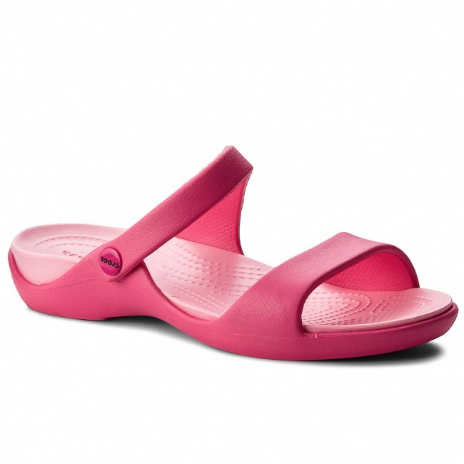 b9f813acdb69 Šľapky CROCS - Cleo V 204268 Paradise Pink - Šľapky každodenné ...