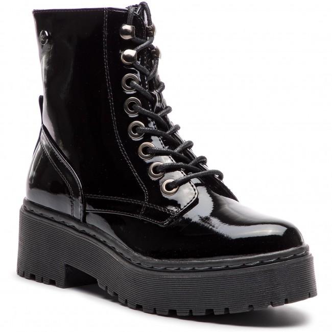 97dfb8fef409 Členková obuv XTI - 48396 Negro - Kotníková obuv - Čižmy a iné ...