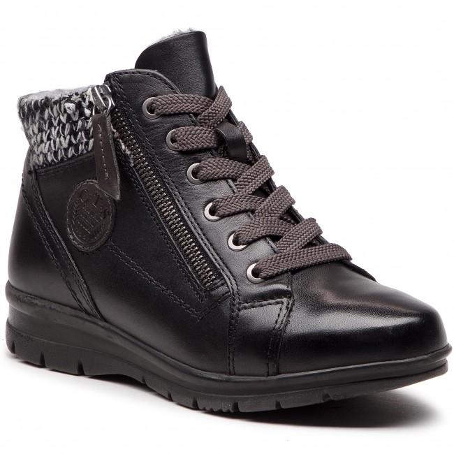 Členková obuv JANA - 8-26205-21 Black 001 - Kotníková obuv - Čižmy a ... ebc7f920d5