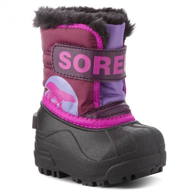 Snehule SOREL - Toddler Snow Commander NV1877 Purple Dalia Paidley Purple 44ac3fb7f3