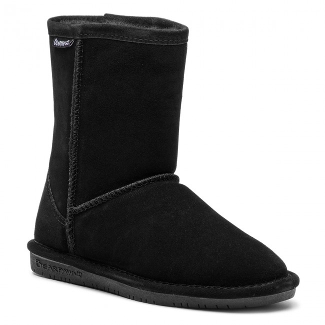 Topánky BEARPAW - Emma Youth 608Y Black - Outdoorová obuv - Čižmy a ... b233bc8258c