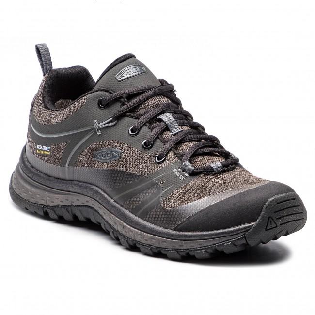 535f28075c Trekingová obuv KEEN - Terradora Wp 1019877 Raven Gargoyle ...