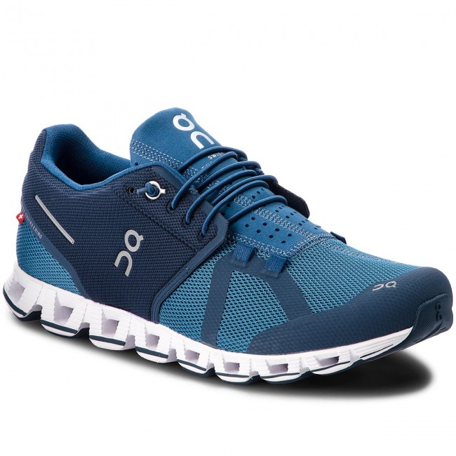 Topánky ON - Cloud 00019 Blue Denim 99989 - Trekingová obuv ... 486e91033f