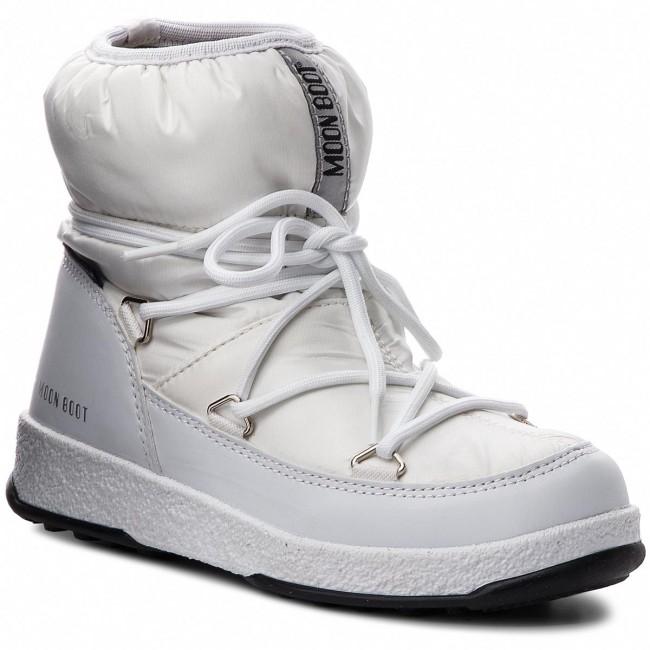 c3d35a9e66 Snehule MOON BOOT - Jr Girl Low 34051800003 White - Outdoorová obuv ...
