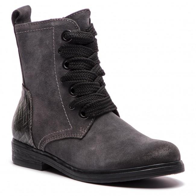 d3fc79a46a46 Členková obuv MARCO TOZZI - 2-25236-21 Dk.Grey Comb 225 - Kotníková ...