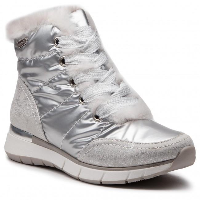 d6b342b3905f Členková obuv MARCO TOZZI - 2-26282-21 Silver Comb 948 - Kotníková ...
