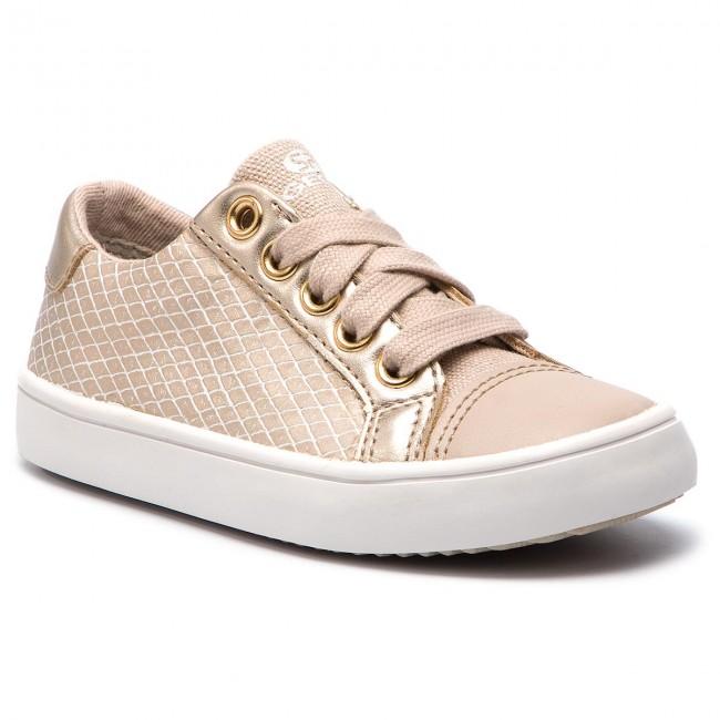 56515f83e560 Sneakersy GEOX - J Gisli G. C J924ND 0QDAJ C5379 M Beige Lt Gold ...