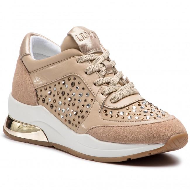 bb8de1b9a4b8 Sneakersy LIU JO - Karlie 12 B19007 TX003 Sand 01127 - Sneakersy ...