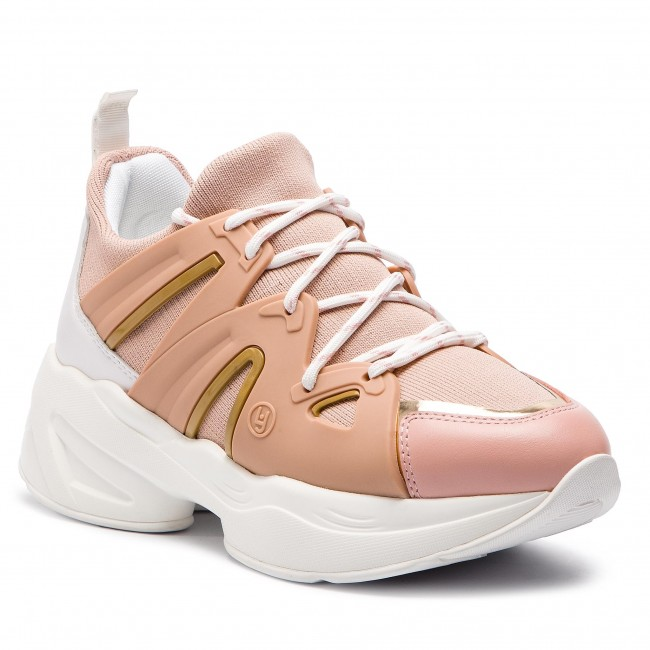 0d59ec67cd Sneakersy LIU JO - Jog 07 B19037 TX038 Peach 31406 - Sneakersy ...