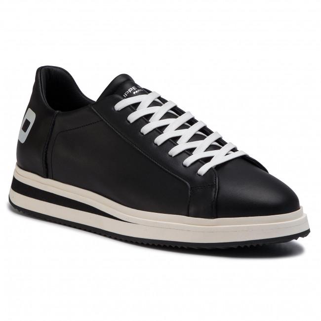 1e207e1494076 Sneakersy PHILIPPE MODEL - Vendome VELU VP03 Noir Blanc - Sneakersy ...