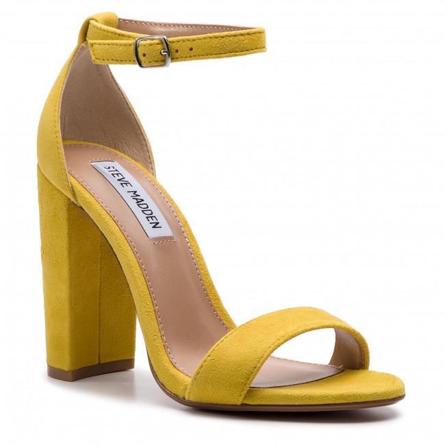 14d8d4b7e19a7 Sandále STEVE MADDEN - Carrson SM11000008-03002-705 Yellow Suede ...