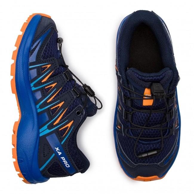 1e443dacafb3 Trekingová obuv SALOMON - Xa Pro 3D J 406387 09 W0 Medieval Blue Mazarine  Blue Wil Tangelo - Obuv na šnurovanie - Poltopánky - Diavča - Detské -  www.eobuv. ...