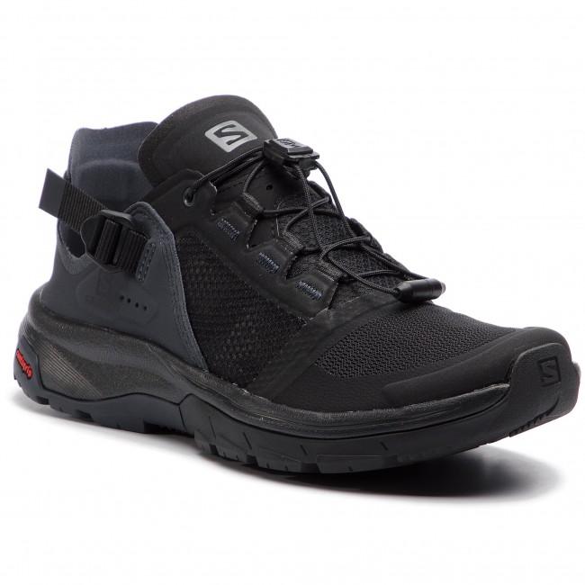 e25a5e9e772d Trekingová obuv SALOMON - Techamphibian 4 W 406813 22 V0 Black Ebony Quiet  Shade