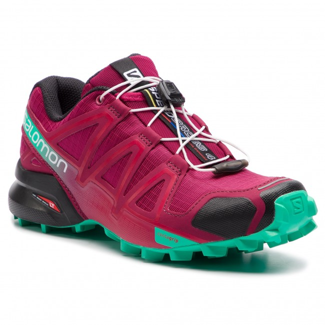 5168facba5c Topánky SALOMON - Speedcross 4 407381 20 V0 Beet Red Electric Green Black