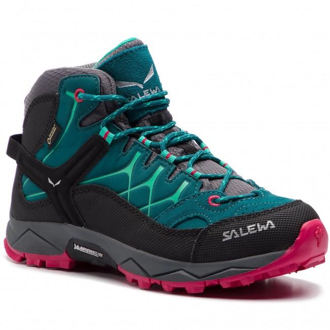 c676cbec376 Trekingová obuv SALEWA - Alp Trainer Mid Gtx GORE-TEX 64006-8632 Shaded  Spruce