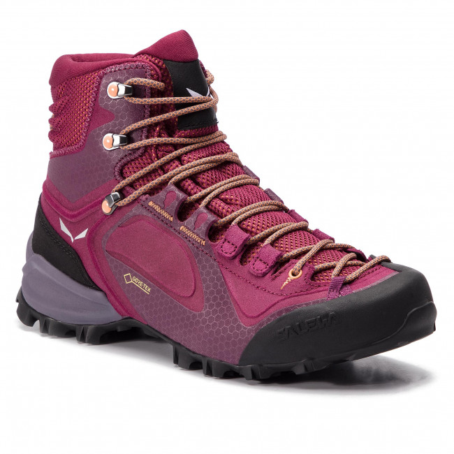 1399083babe09 Trekingová obuv SALEWA - Alpenviolet Mid Gtx GORE-TEX 61337-6895 Red Plum/