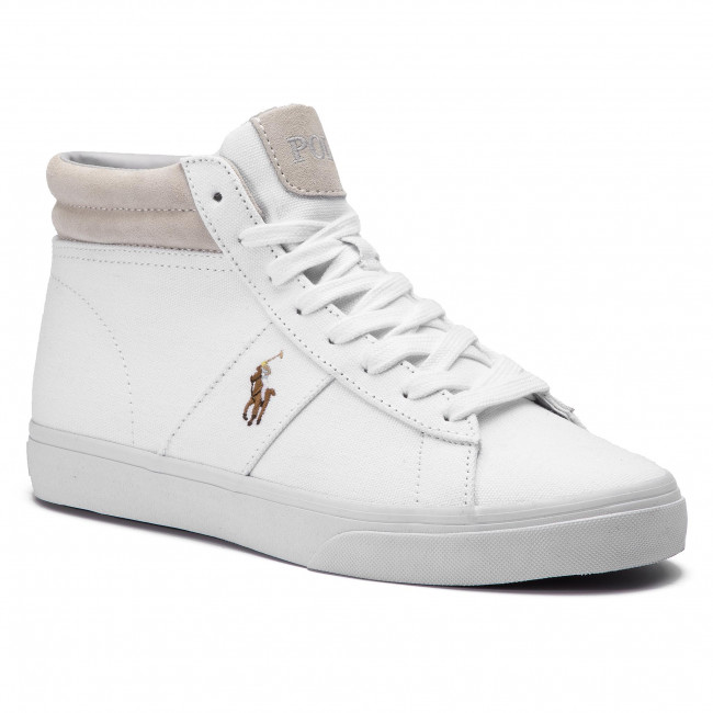 754c6d0783 Sneakersy POLO RALPH LAUREN - Shaw 816749370002 White - Sneakersy ...