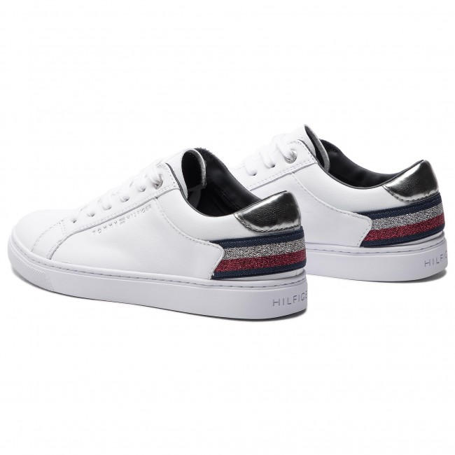 e4afd1f07881e Sneakersy TOMMY HILFIGER - Essential Sneaker FW0FW03710 White 100 ...