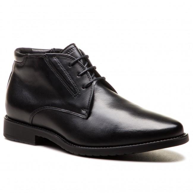 00e61bad80d5 Outdoorová obuv SALAMANDER - Adam 31-69004-61 Black - Topánky ...