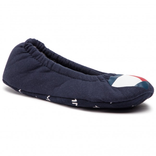 Papuče TOMMY HILFIGER - Cozy Travel Pack Slipper FW0FW04179 Midnight ... 5dd1fb3e594