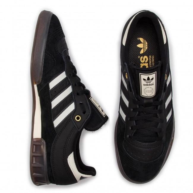c5b4545ecb Topánky adidas - Handball Top BD7627 Cblack Owhite Carbon - Sneakersy -  Poltopánky - Pánske - www.eobuv.sk