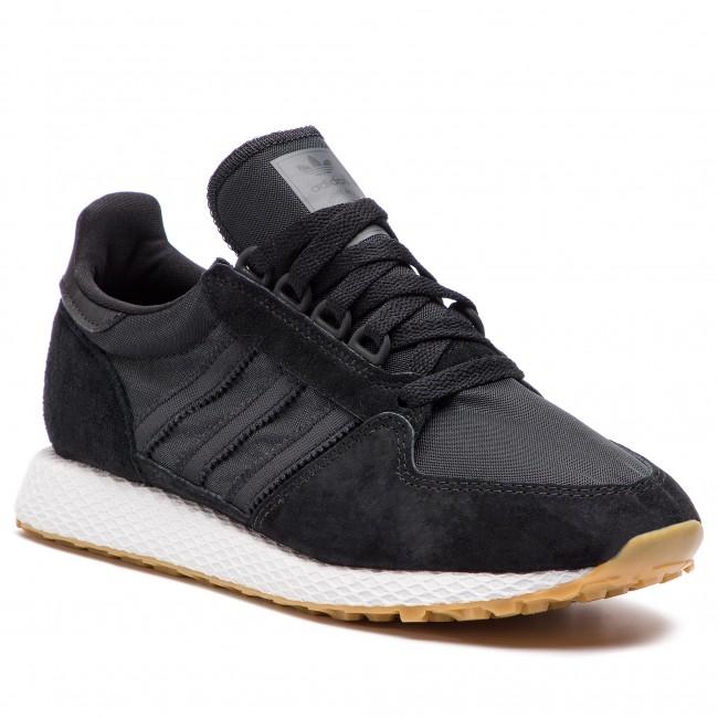 0b107d43fe Topánky adidas - Forest Grove CG5673 Cblack Cblack Gum3 - Sneakersy ...