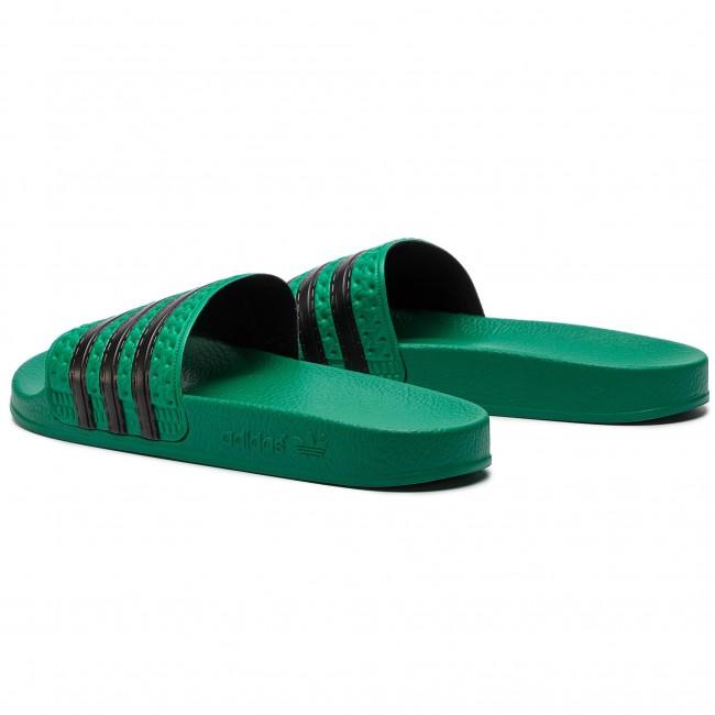Šľapky adidas - adilette CM8443 Bgreen Cblack Bgreen - Šľapky ... 98094601b21