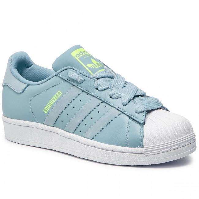 ca67e2ca3ba56 Topánky adidas - Superstar J F34162 Ashgre/Ashgre/Hireye - Sneakersy -  Poltopánky - Dámske - www.eobuv.sk