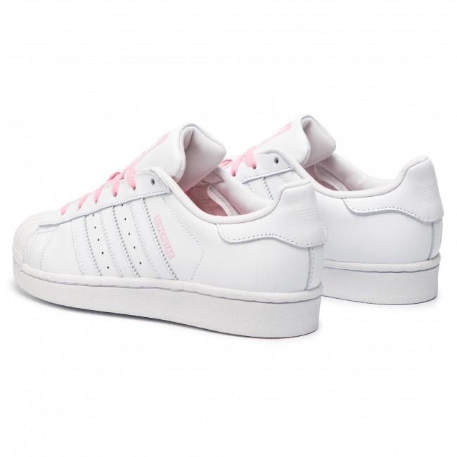 0bc9b04be12b3 Topánky adidas - Superstar J CG6617 Ftwwht/Ftwwht/Ltpink - Obuv na ...