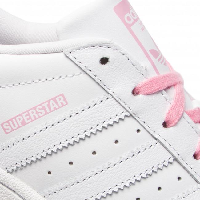 61ac241c548a5 Topánky adidas - Superstar J CG6617 Ftwwht/Ftwwht/Ltpink - Obuv na  šnurovanie - Poltopánky - Diavča - Detské - www.eobuv.sk