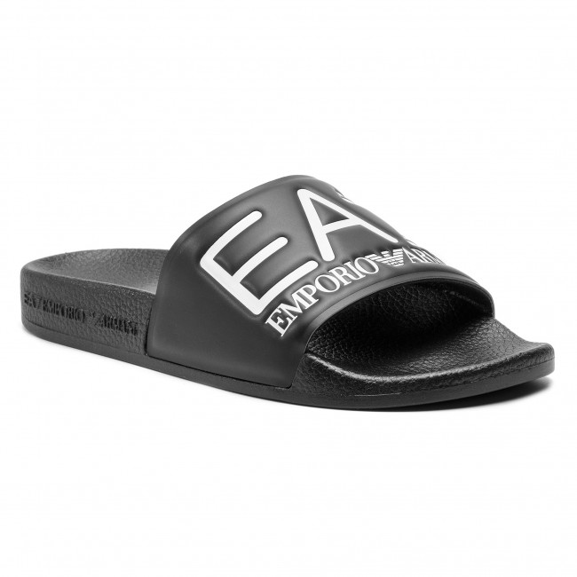 12d5359787 Šľapky EA7 EMPORIO ARMANI - XCP001 XCC22 00002 Black - Sandále na ...