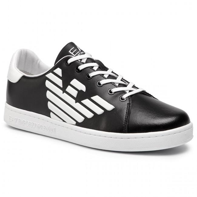 3455a4d8ec Sneakersy EA7 EMPORIO ARMANI - XSX006 XCC53 A120 Black White ...
